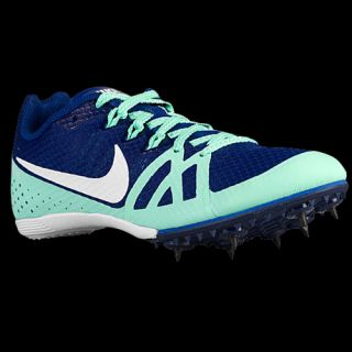 Nike Zoom Rival MD 8   Womens   Track & Field   Shoes   Deep Royal Blue/White/Green Glow