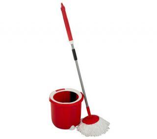 Fuller Brush Microfiber Spin Mop Pro w/ Single Chamber Bucket —