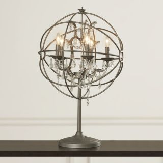 House of Hampton Adelina 30 H Table Lamp with Sphere Shade