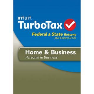 Intuit TurboTax Home and Business Federal, E File and 423090