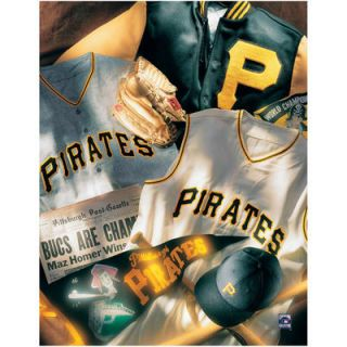 Pittsburgh Pirates 11 x 14 Vintage Collage Wall Decor