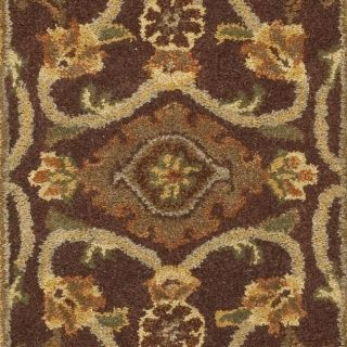 Safavieh Handmade Golden Jaipur Rust/ Green Wool Rug (23 x 14