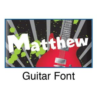 Personalized Guitar Door Hanger by KidKraft