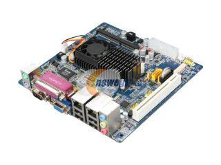 Giada MI D525 01 Intel Atom D525 1.8G Dual Core NM10 Dual LAN PCI+2MiniPCIe ITX Motherboard