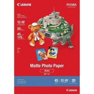 Canon® 45lb 13 x 19 Matte Photo Paper   White (20 Sheets/Pack