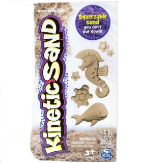 Spin Master Kinetic Sand 1.5lb Brown   18180972