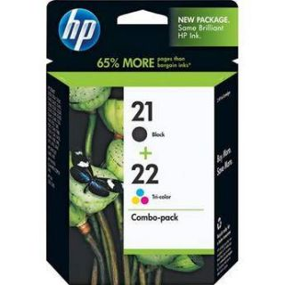HP 21/22 Combo pack Inkjet Print Cartridges C9509FN#140
