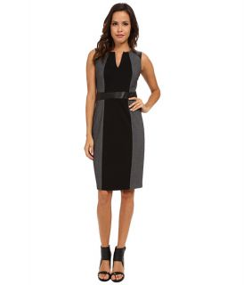 Nydj Lexie Tweed Mix Media Dress