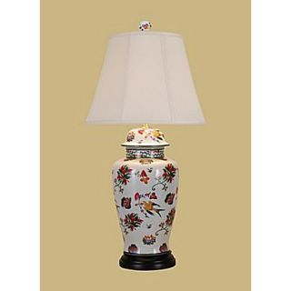 East Enterprises Inc 32 H Jar Table Lamp with Empire Shade