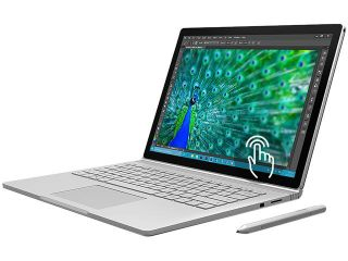 "Microsoft Surface Book SX3 00001 2 in 1 Laptop Intel Core i5 6300U (2.40 GHz) 256 GB SSD NVIDIA GeForce Graphics 13.5"" Touchscreen Windows 10 Pro 64 Bit"