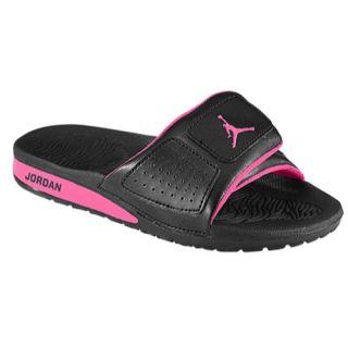 Jordan Hydro 3   Girls Preschool   Casual   Shoes   Metallic Platinum/White/Hyper Pink
