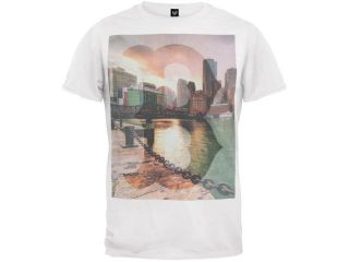 Boston Red Sox   Sinatra City Scene Soft T Shirt