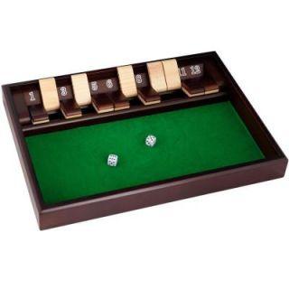 Trademark Games 12 in. Shut the Box Game 80 1817