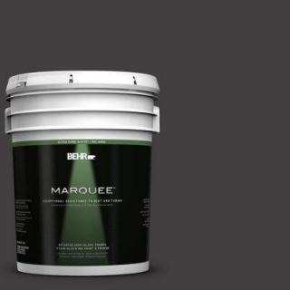 BEHR MARQUEE 5 gal. #N510 7 Blackout Semi Gloss Enamel Exterior Paint 545305