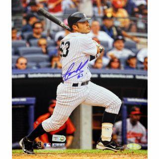 Jesus Montero Autographed Second Career Homerun Vertical 8x10 Photo