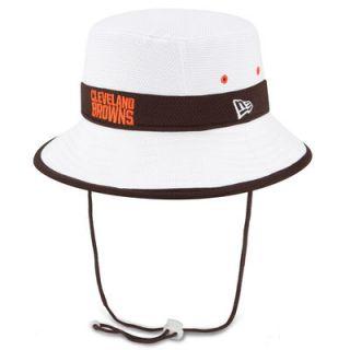 Cleveland Browns New Era On Field Training Camp Bucket Hat   White