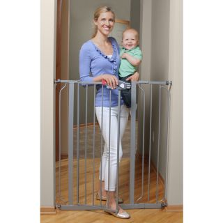 Regalo Deluxe Easy Step Extra Tall Platinum Gate   16649414
