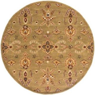 Artistic Weavers Middleton Grace Moss 6 ft. x 6 ft. Round Indoor Area Rug AWHR2047 6RD
