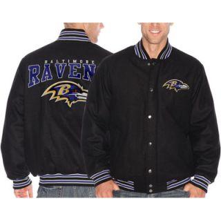 Baltimore Ravens Pump Fake Promo Jacket   Black