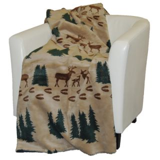 Denali Deer Tracks Throw Blanket   15727514   Shopping