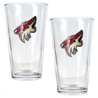 Phoenix Coyotes 2pc Pint Ale Glass Set   7570216