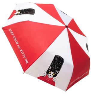 Keep Calm and Kitty Umbrella by Naked Decor