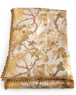 MacKenzie Childs King Parchment Check Duvet Cover