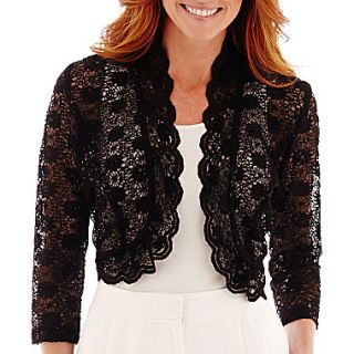 R&M Richards Lace Bolero Shrug Sweater