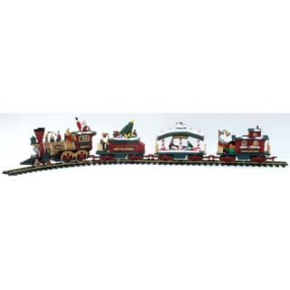 New Bright Holiday Express, Electric Christmas Train