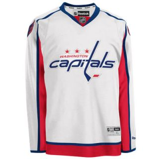 99e8add1c Washington Capitals Reebok Premier Away Jersey White on PopScreen
