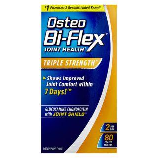 Osteo Bi Flex Advanced Triple Strength Glucosamine Chondroitin MSM with 5 Loxin, Tablets