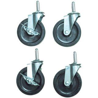Offex C4S 4 inch Screw In Heavy Duty Casters   17205127