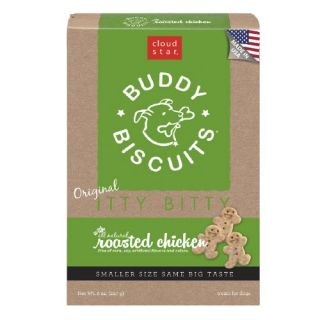 Cloud Star Buddy Biscuits, Itty Bitty Natural Biscuits Roasted Chicken