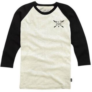 Headrush Stand Proud Arrows 3/4 Sleeve Shirt   2XL   Oatmeal/Black