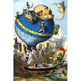 Italian Balloon Cartoon Graphic Art by Buyenlarge