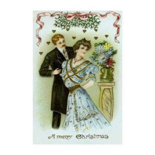 Merry Christmas Print (Unframed Paper Print 20x30)