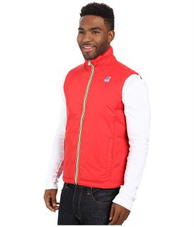 K Way Yannick Thermo Plus Double Jacket Red Smoke, Clothing, Red