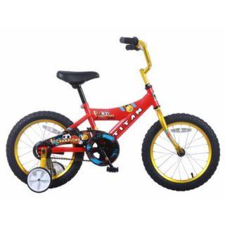 "16"" Titan Champions Boys' BMX Bike, Red and Gold"