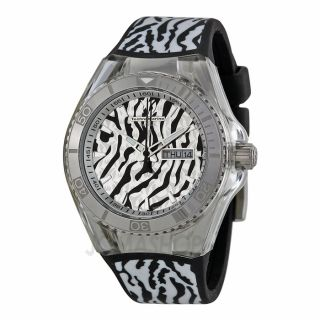 Technomarine Cruise Jungle Black and White Unisex Watch 114016