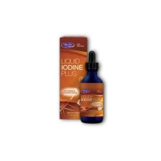 Liquid Iodine Plus Life Flo Health Products 2 oz Liquid