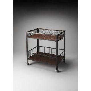 Butler 3435330 Industrial Chic Serving Cart
