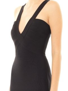 Mai body con dress  Herve L. Leroux US