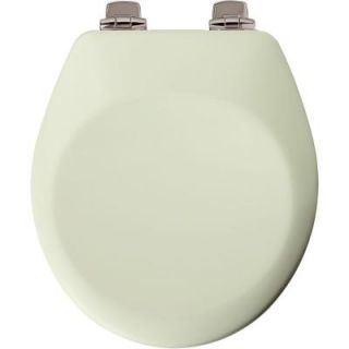Church Round Closed Front Toilet Seat in Biscuit 840NISL 346