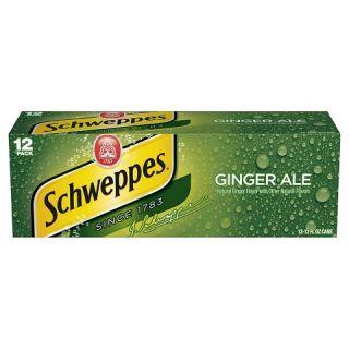 Schweppes Ginger Ale 12 oz, 12 pk