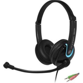 Andrea EDU 255 On Ear Stereo PC Headset   Black
