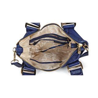 Michael Kors Open Box   Dark Blue Leather Shoulder Satchel Bag Item No