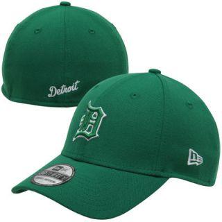 New Era Detroit Tigers St. Patricks Day Graf Pop 39THIRTY Flex Hat   Kelly Green