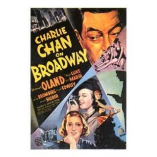 Charlie Chan on Broadway Movie Poster (11 x 17)