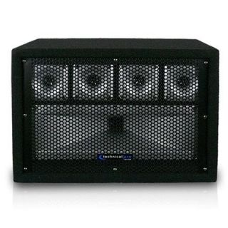 TW50 Technical Pro Technical Pro TW50 Professional Carpeted Five Way Tweeter Box