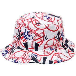 New York Yankees 47 Bravado Bucket Hat   White